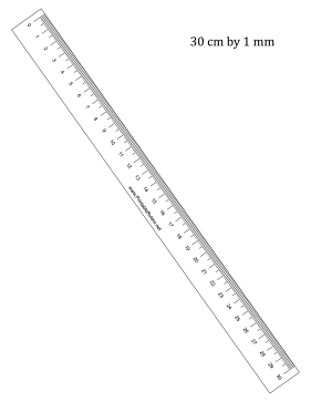 Impeccable image intended for millimeter printable ruler