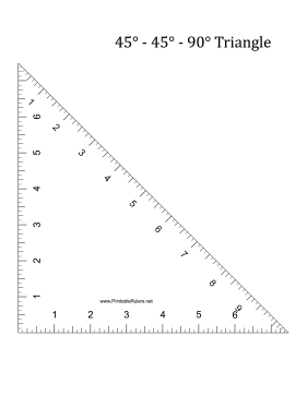 45 degree angles and a 90 degree angle at its vertices download free
